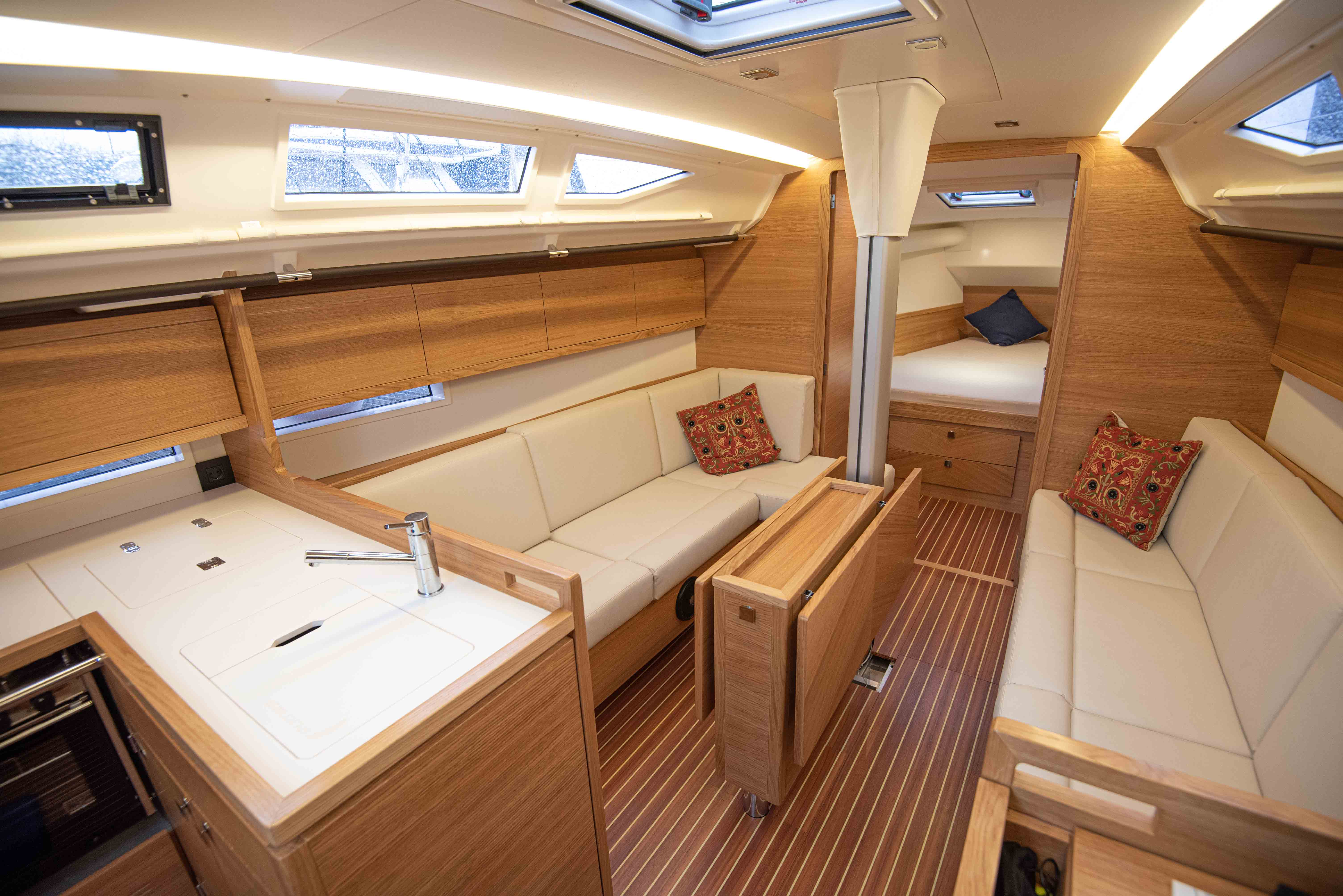 Salona Sailing boat interior